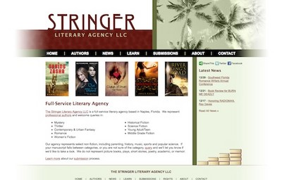 Visit the Stringer Literary Agency Web Site