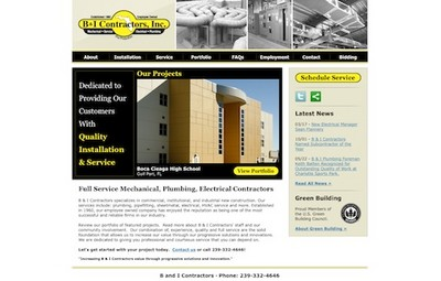 Go to the B & I Contractors Web Site