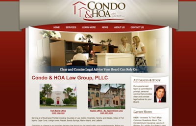 Visit the Condo & HOA Law Group Website