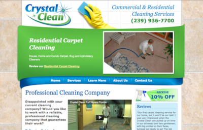 Visit the Crystal Clean Website
