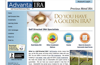 Visit the AdvantaIRA Website