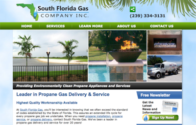 Visit the South Florida Gas Company Website