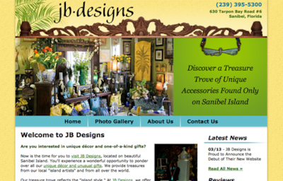 Visit the JB Designs Website