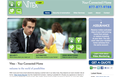 Visit the Vitex Home Security Website