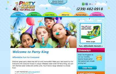 Visit the Party King Website