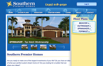 Visit the Southern Premier Homes Website