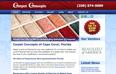 Visit the Carpet Concepts Website