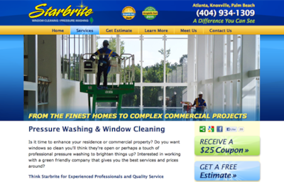 Visit the Starbrite Window Cleaning Website
