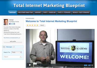 Total Internet Marketing Blueprint Interactive Course