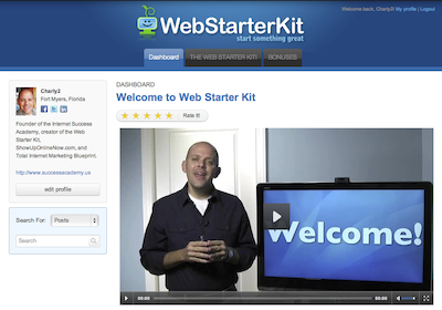 The WebStarterKit Interactive Course