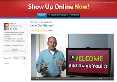 10 Steps to Online Success Interactive Course