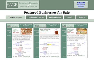 SAGE - Businesses for Sale - Naples Web Site