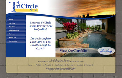 TriCircle Paver