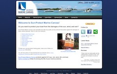 Sun Protect Marine Canvas