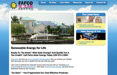 Naples, Fort Myers & Cape Coral Solar - Fafco Solar Energy